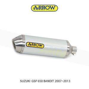 ARROW 애로우 SILENCER 레이스 테크 알루미늄 화이트 이녹스/ 스즈키 GSF650 밴딧 (07-13) 71822AOB