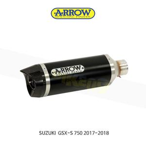 ARROW 애로우 SILENCER 레이스 테크 알루미늄 다크 이녹스/ 스즈키 GSX-S750 (17-18) 71776AON