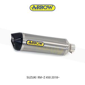 ARROW 애로우 SILENCER 레이싱 레이스 테크 티타늄/ 스즈키 RM-Z450 (18-) 75154TK