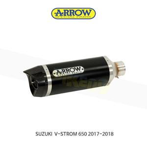 ARROW 애로우 SILENCER 레이스 테크 알루미늄 다크/ 스즈키 브이스톰650 (17-18) 72622AKN