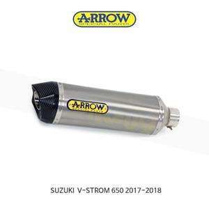 ARROW 애로우 SILENCER 레이스 테크 티타늄/ 스즈키 브이스톰650 (17-18) 72622PK