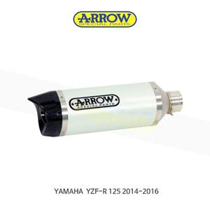 ARROW 애로우 SILENCER 스트리트 썬더 알루미늄 카본/ 야마하 YZF-R125 (14-16) 51503AK