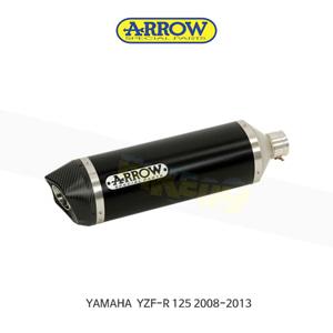 ARROW 애로우 SILENCER 스트리트 썬더 알루미늄 다크 카본/ 야마하 YZF-R125 (08-13) 51503AKN