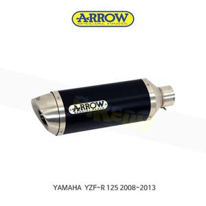 ARROW 애로우 SILENCER 스트리트 썬더 알루미늄 다크 이녹스/ 야마하 YZF-R125 (08-13) 51503AON