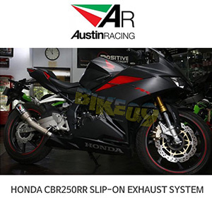 오스틴레이싱 머플러 혼다 HONDA CBR250RR SLIP-ON EXHAUST SYSTEM