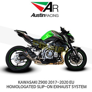 오스틴레이싱 머플러 가와사키 KAWASAKI Z900 2017-2020 EU HOMOLOGATED SLIP-ON EXHAUST SYSTEM