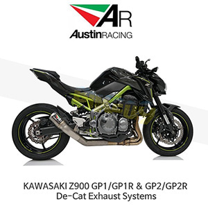오스틴레이싱 머플러 가와사키 KAWASAKI Z900 GP1/GP1R & GP2/GP2R De-Cat Exhaust Systems