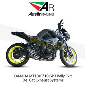 오스틴레이싱 머플러 야마하 YAMAHA MT10/FZ10 GP3 Belly Exit De-Cat Exhaust Systems