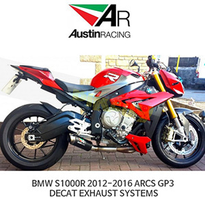 오스틴레이싱 머플러 BMW S1000R 2012-2016 ARCS GP3 DECAT EXHAUST SYSTEMS