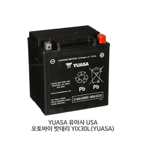 YUASA 유아사 USA 오토바이 밧데리 YIX30L(YUASA)