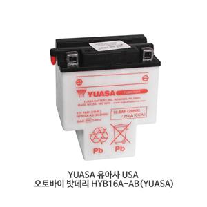YUASA 유아사 USA 오토바이 밧데리 HYB16A-AB(YUASA)