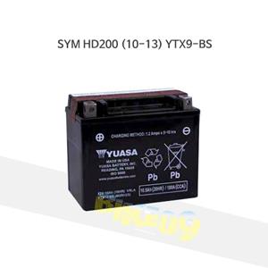 YUASA 유아사 SYM HD200 (10-13) 배터리 YTX9-BS 밧데리