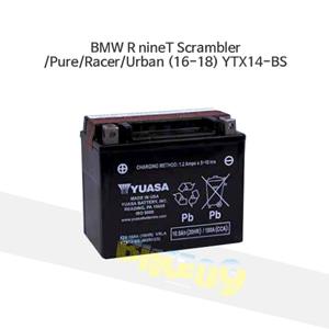 BMW R nineT Scrambler/Pure/Racer/Urban (16-18) YTX14-BS
