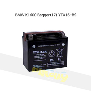 BMW K1600 Bagger(17) YTX16-BS