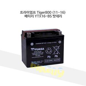 트라이엄프 Tiger800 (11-16) 배터리 YTX16-BS 밧데리