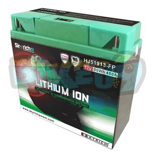 스카이리치 리튬 배터리 LI51913 (W/Led 인디케이터) - 오토바이 밧데리 리튬이온 배터리 HJ51913-FP