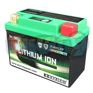 푸조 스카이리치 리튬 배터리 LIB5L (워터프루프 + Led 인디케이터) 12N5-3B/YB4L-B/12N5.5-3B - 오토바이 밧데리 리튬이온 배터리 HJB5L-FP