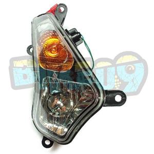 SYM 보이져125 윙커(앞)(순정) - 우 - SYM 보이져 오토바이 부품 정비 1100008597