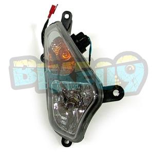 SYM 보이져250 윙커(앞)(안개등)(순정) - 우 - SYM 보이져 오토바이 부품 정비 1100006695