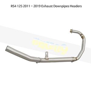 APRILIA 아프릴리아 RS4 125 (11-19) Exhaust Downpipes Headers 메니폴더 머플러 중통