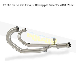 BMW R1200GS (10-12) De-Cat Exhaust Downpipes Collector 메니폴더 머플러 중통