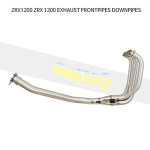 KAWASAKI 가와사키 ZRX1200 EXHAUST FRONTPIPES DOWNPIPES 메니폴더 머플러 중통