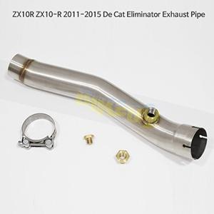 KAWASAKI 가와사키 ZX10R ZX10-R (11-15) De Cat Eliminator Exhaust Pipe 메니폴더 머플러 중통