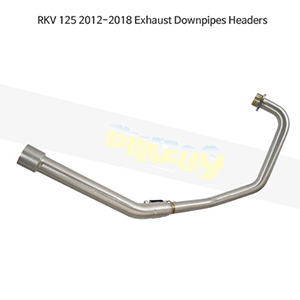 KEEWAY RKV125 (12-18) Exhaust Downpipes Headers 메니폴더 머플러 중통