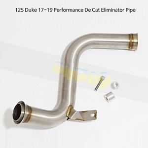 KTM 125듀크 (17-19) Performance De Cat Eliminator Pipe 메니폴더 머플러 중통