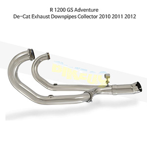 BMW R1200GS 어드벤처 (10-12) De-Cat Exhaust Downpipes Collector 메니폴더 머플러 중통