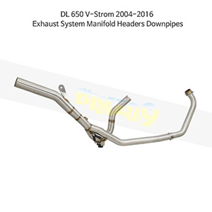 SUZUKI 스즈키 DL650 브이스톰 (04-16) Exhaust System Manifold Headers Downpipes 메니폴더 머플러 중통