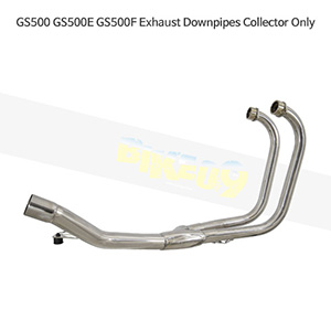 SUZUKI 스즈키 GS500/E/F Exhaust Downpipes Collector Only 메니폴더 머플러 중통