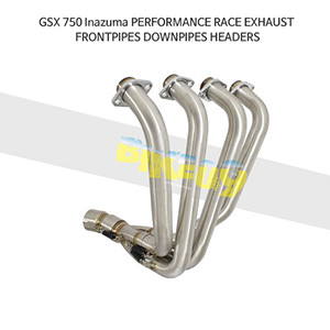 SUZUKI 스즈키 GSX750 Inazuma PERFORMANCE RACE EXHAUST FRONTPIPES DOWNPIPES HEADERS 메니폴더 머플러 중통