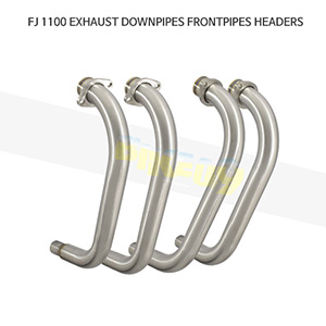 YAMAHA 야마하 FJ1100 EXHAUST DOWNPIPES FRONTPIPES HEADERS 메니폴더 머플러 중통