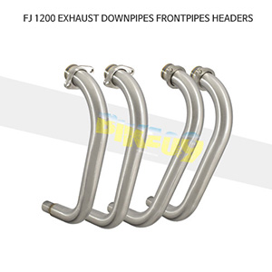 YAMAHA 야마하 FJ1200 EXHAUST DOWNPIPES FRONTPIPES HEADERS 메니폴더 머플러 중통