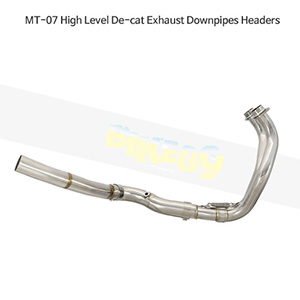 YAMAHA 야마하 MT-07 High Level De-cat Exhaust Downpipes Headers 메니폴더 머플러 중통