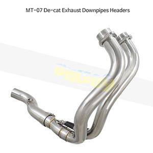 YAMAHA 야마하 MT07 MT-07 De-cat Exhaust Downpipes Headers 메니폴더 머플러 중통