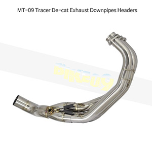 YAMAHA 야마하 MT-09 Tracer De-cat Exhaust Downpipes Headers 메니폴더 머플러 중통