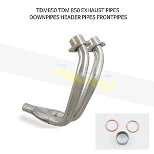 YAMAHA 야마하 TDM850 EXHAUST PIPES DOWNPIPES HEADER PIPES FRONTPIPES 메니폴더 머플러 중통
