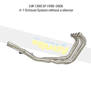 YAMAHA 야마하 XJR1300 SP (98-06) 4-1 Exhaust System without a silencer 메니폴더 머플러 중통