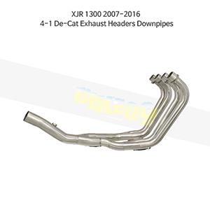 YAMAHA 야마하 XJR1300 (07-16) 4-1 De-Cat Exhaust Headers Downpipes 메니폴더 머플러 중통