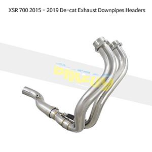 YAMAHA 야마하 XSR700 (15-19) De-cat Exhaust Downpipes Headers 메니폴더 머플러 중통