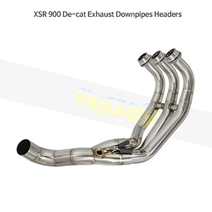 YAMAHA 야마하 XSR900 De-cat Exhaust Downpipes Headers 메니폴더 머플러 중통