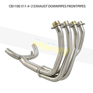 HONDA 혼다 CB1100 X11 4-2 EXHAUST DOWNPIPES FRONTPIPES 메니폴더 머플러 중통