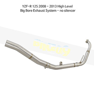 YAMAHA 야마하 YZF-R125 (08-13) High Level Big Bore Exhaust System - no silencer 메니폴더 머플러 중통