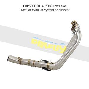 HONDA 혼다 CBR650F (14-18) Low Level De-Cat Exhaust System no silencer 메니폴더 머플러 중통