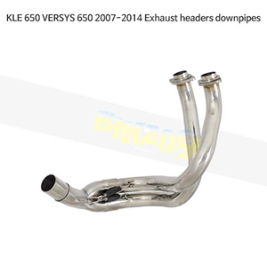 KAWASAKI 가와사키 KLE650 VERSYS650 (07-14) Exhaust headers downpipes 메니폴더 머플러 중통