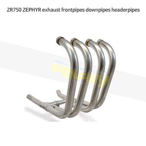 KAWASAKI 가와사키 ZR750 ZEPHYR exhaust frontpipes downpipes headerpipes 메니폴더 머플러 중통