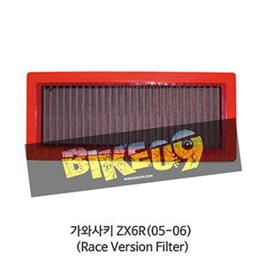 가와사키 ZX6R(05-06) (Race Version Filter) Kawasaki BMC 에어필터