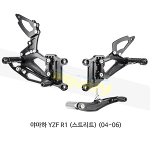 보나미치 레이싱 야마하 YZF R1 (스트리트) (04-06) 라이테크 리어셋 백스텝 Y002